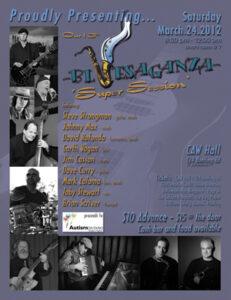 Bluesaganza 2012 Poster