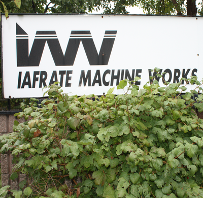Iafrate Machine Making Weights/Dumbbells/Plates