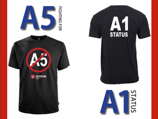 A1 STATUS T Shirts