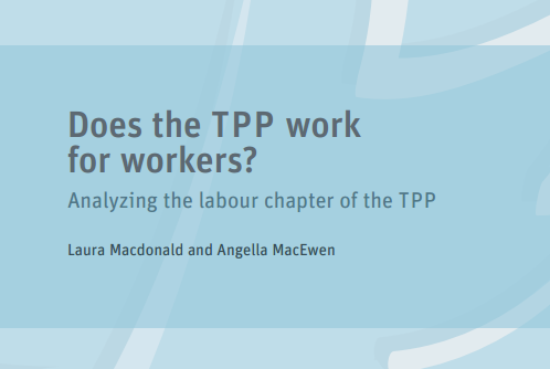 Does the TPP Work for Workers?