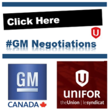 2016 Bargaining GM/Unifor