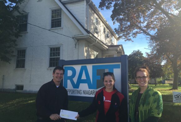 Donation to RAFT