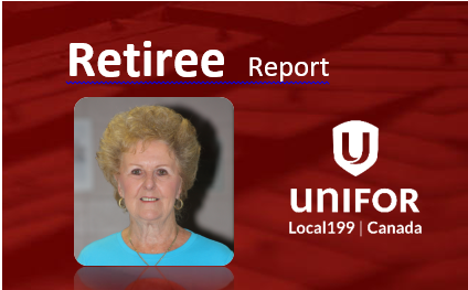 Retiree Report – April 2016