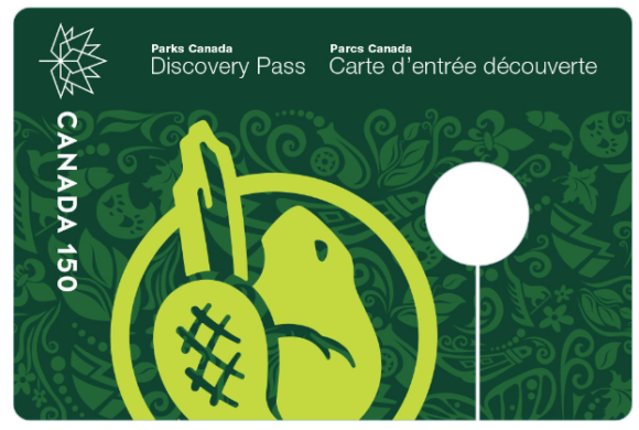 Free 2017 Canada Parks Discovery Pass