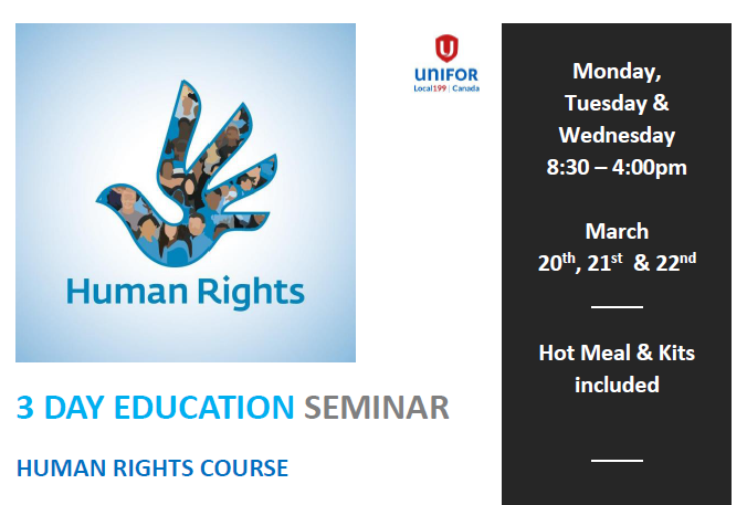 3 Day Human Rights Course