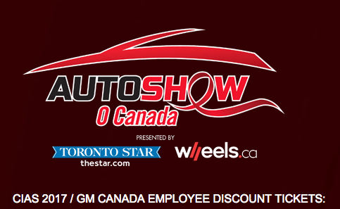 Auto Show Discounted Tickets