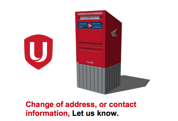 Change of address unifor local199 for General motors credit union