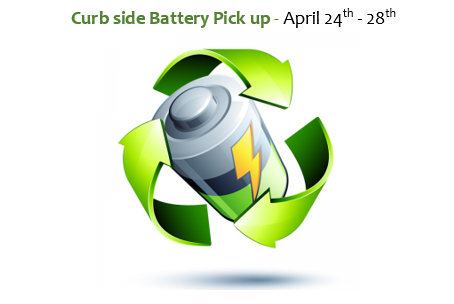 Curbside Battery Collection