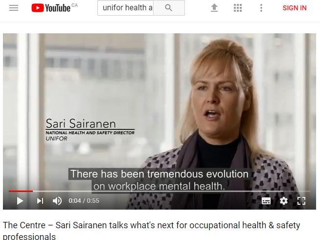 Health & Safety Video Mental Health