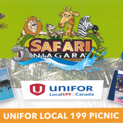 Unifor Family Picnic, TICKETS FOR SALE