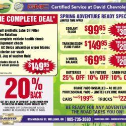 David Chevrolet Special Offer