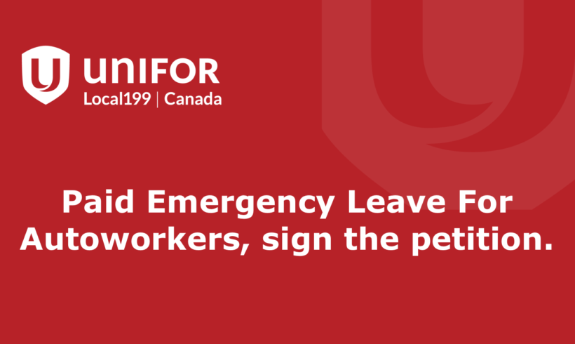 Government to Review Paid Personal Leave for Autoworkers