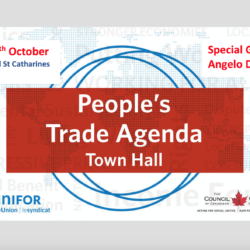 Town Hall Meeting on Trade – Oct 18th 2018