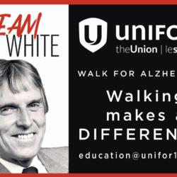 Walk For Alzheimer's – Sunday January 26th 2020