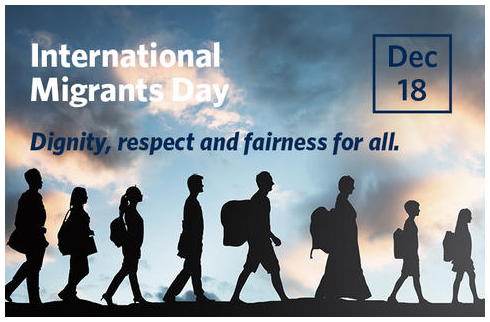 International Migrants Day , Dec 18th
