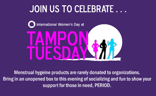 Tampon Tuesday March 5, 2019