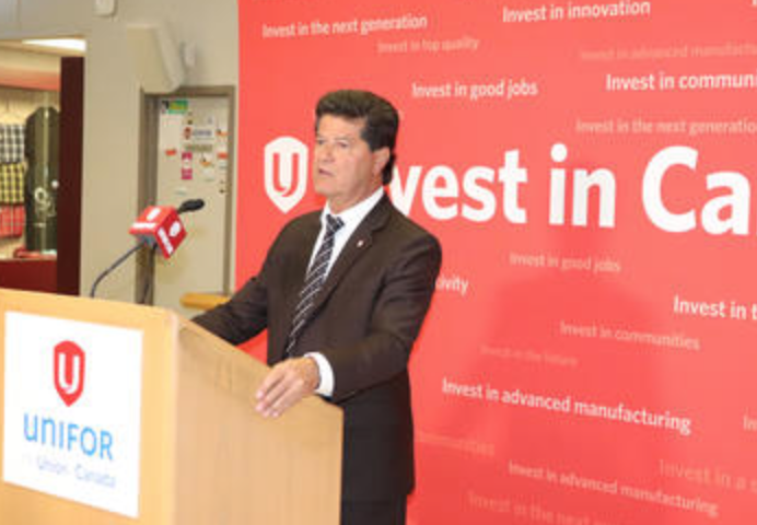 Jerry Dias Met with GM officials