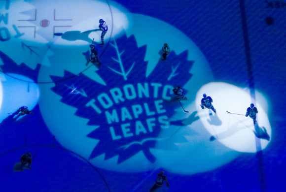 Family Skate on Toronto Maple Leafs Home Ice