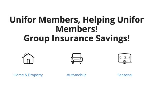 Unifor Home & Auto Group Insurance