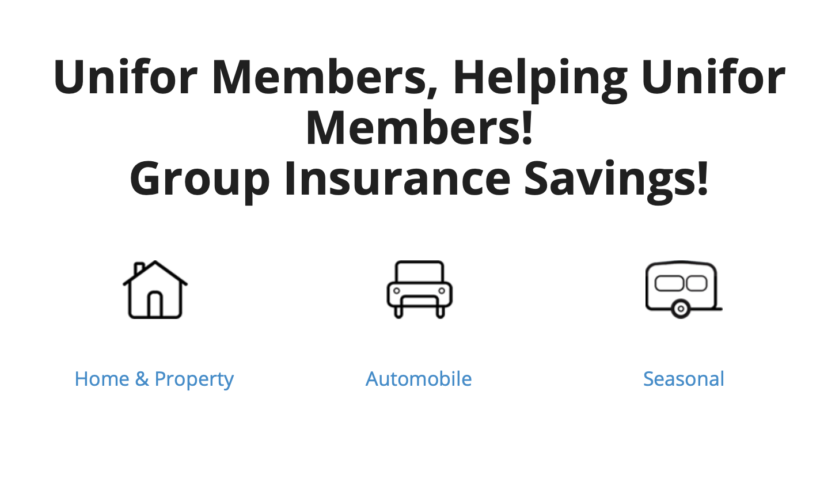 Unifor Home & Auto Group Insurance