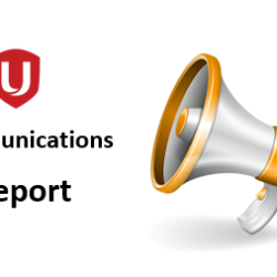Communications Report August, 2019