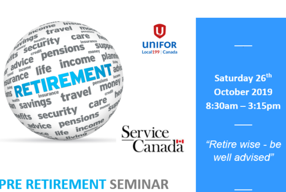 Pre Retirement Seminar COURSE IS FULL