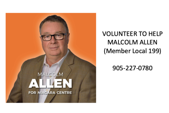 Unifor Member Malcom Allen needs your help