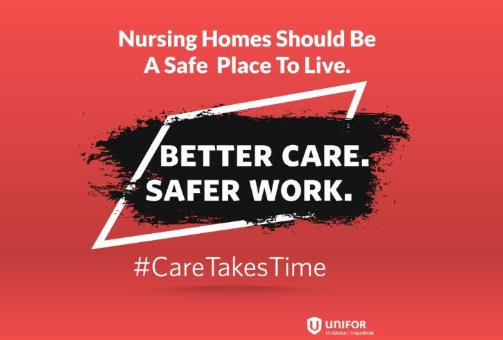 Nursing Homes, Better Care – Safer work.