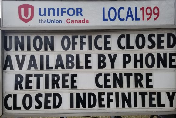 UNION HALL CLOSED – CALL FOR ASSISTANCE