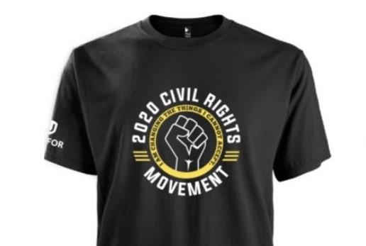 CIVIL Rights T Shirt SOLD OUT