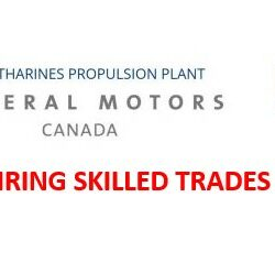 GM is Hiring Skilled Trades