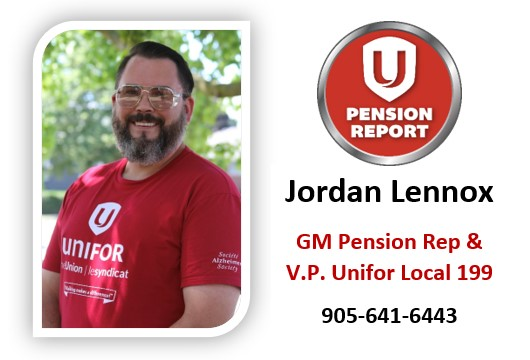 GM Pension Report – Retiree Cards and Watches