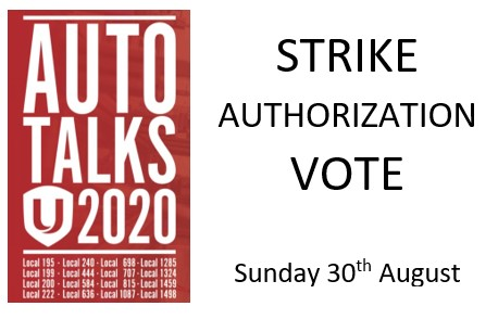 GM Strike Vote – LAST CALL VOTE NOW