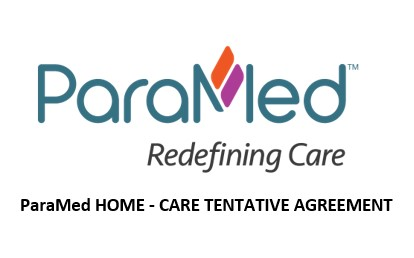 ParaMed – Agreement Ratified