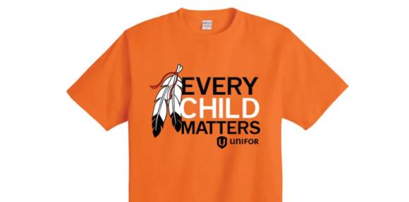 EVERY CHILD MATTERS – ORANGE T-SHIRT CAMPAIGN