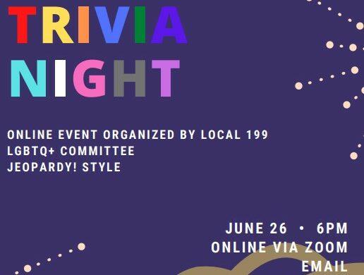 LGBTQ Trivia Night – 2021